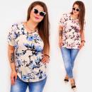 Großhandel Hemden & Blusen: C11524 Romantic Bluse in Übergröße, ...
