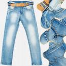 Großhandel Jeanswear: A19168 Jugendjeans Hosen, 8-16 Jahre alt