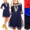 Großhandel Kleider: BI644 Wunderbar, Spitzenkleid, Ausschnitt Herz