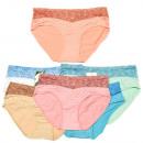 Bamboo Women's Panties, With Pattern, XL-2XL,