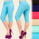 FL442 Short Pants,  Plus Size, Length 3/4