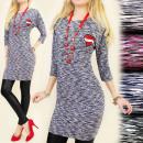 wholesale Fashion & Mode: BI332 COMFORTABLE,  DRESS, TUNIC, MELANGE, HEART