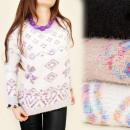 wholesale Pullover & Sweatshirts: 4024 SOFT SWEATER,  plush, NORWEGIAN PATTERN