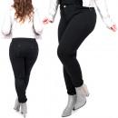 Großhandel Jeanswear: Damen Plus Size Jeans, Classic Black, B16862