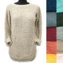 wholesale Pullover & Sweatshirts: Classic Loose Sweater For Women, Pearls, R122