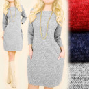 C24145 Winter and Warm Dress, Tunic, Slimming
