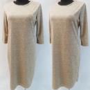Großhandel Kleider: D4016 Kleid, Made In Poland, 44-52, Beige