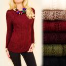 ingrosso Ingrosso Abbigliamento & Accessori: G236 Maglione  caldo, sciolto, tunica, tessuto orig