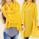 wholesale Scarves & Shawls: FL219 Soft Scarf, Large Plaid, Autumn Colors