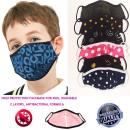 wholesale Drugstore & Beauty: Children's Protective Mask, Pattern Mix 4-10,