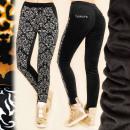 Großhandel Hosen: C17469 Glamorous Pants, Bambus & Samt, Winter