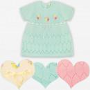 Großhandel Kleider: A19131 Pastell Kleid für kleine Princess 3-36