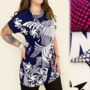 groothandel Kleding & Fashion: C11193 TUNIEK  LOOSE, plus size MODEL GEOMETRIC