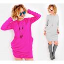 4500 Sweatshirt Dress, Loose Style, Spring Colors