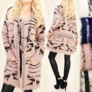 groothandel Kleding & Fashion: C17241 Oversize  Coat, Long Cardigan, Herfst