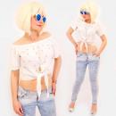 Großhandel Shirts & Tops: R77 Beach Women Top mit Perlen im amerikanischen L