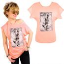 hurtownia Fashion & Moda: K576 Bawełniany T-shirt, Top, Feels Like Brzoskwin
