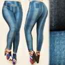 ingrosso Jeans: C17264 Pantaloni  dimagranti,  Leggins, Taglie ...