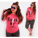 wholesale Shirts & Tops: B18268 Cotton Shirt, Pastel Top, You Rock My World
