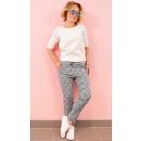 Großhandel Hosen: BI771 Charming Hosen, Casual Style, Herbst Gitter