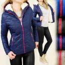 wholesale Coats & Jackets: B16413 WARM WINTER  JACKET WITH A CLEAR FUTERKIEM