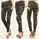 Großhandel Jeanswear: B16459 TUBE HOSE, MORO, Militärstil