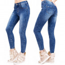 B16581 Pinstripes  Jeans, Super Fashionable Tubes