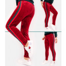 C17535 Velour Sweatpants, Sportliche Leggings, Leg