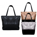 Großhandel Handtaschen: 4805 Große Damentasche, Shopper, Glossy Look