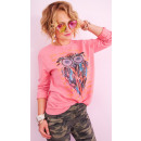 wholesale Fashion & Apparel: A804 Casual Women Sweatshirt, Color Printing: Owl