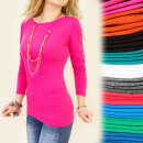 wholesale Fashion & Apparel: C1188 CLASSIC TOP, BLOUSE, BOAT DECAL, COLORS