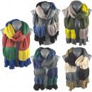 groothandel Speelgoed: Zachte lange sjaal mooie kleuren B10A185