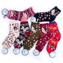Großhandel Strümpfe & Socken: Womens Winter Socken, schöne Muster, 35-42, 4986