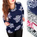 wholesale Shirts & Blouses: C11457 Lovely Blouse, Warm Tunic, Plus Size