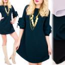 Großhandel Kleider: C24241 Schickes Kleid, lose Linie, Rüschen