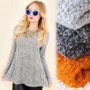 wholesale Fashion & Apparel: G242 Long Sweater,  Winter Tunic, Hairy Knit