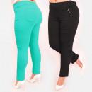 Großhandel Hosen: C17641 Komfortable Damenhose, Große Größe, Farben