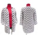 wholesale Pullover & Sweatshirts: Fluffy Women Cardigan, Coat, M-2XL, 5147