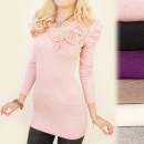 wholesale Fashion & Apparel: C17218 Beautiful  Swan Tunic, Floral Ornament