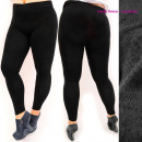 Bamboo leggings with insulation 3XL-6XL , 5723