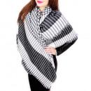 B10A13 Eleganter XXL Schal, Decke , Winter Plaid
