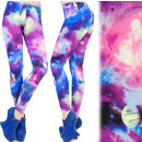 wholesale Trousers: Leggings bamboo, GALAXY SPACE