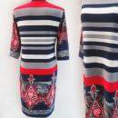 Großhandel Kleider: D4049 Kleid, Made in Poland, Plus Size 44-52