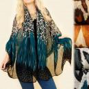 wholesale Scarves & Shawls: C17309 Large Shawl, Scarf, Animal Patterns, ...