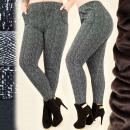 wholesale Fashion & Apparel: C17470 Stylish  Winter Pants, Warm Fleece, Sizes