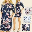 4505 Tracksuit Dress, Spring Flowers