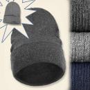 Großhandel Fashion & Accessoires: C17416 Licht  Wintermütze, Unisex Mix Farben