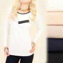 wholesale Fashion & Apparel: C11317 Loose,  Classic Tunic, Blouse, 3D Effect