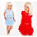 BI728 Romantic Lace Dress, Summer Colors