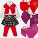 mayorista Ropa / Zapatos y Accesorios: A19197 Super Set para niña, 4 piezas, 2-6 años